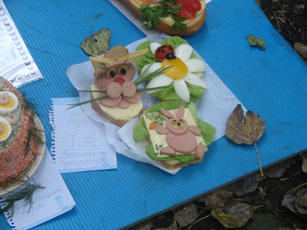 Конкурс в школе бутербродов